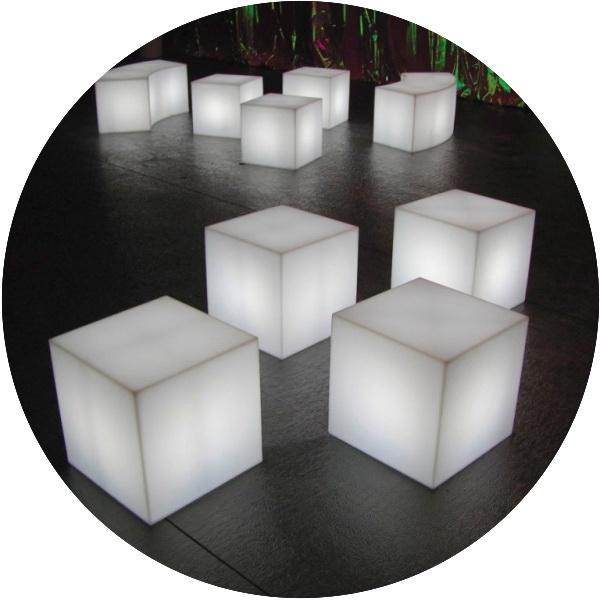 Аренда мебели с подсветкой