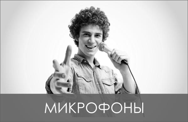Аренда микрофонов